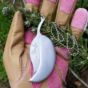 Silverleaf Pocket Knife Necklace or KeyringNWT for sale